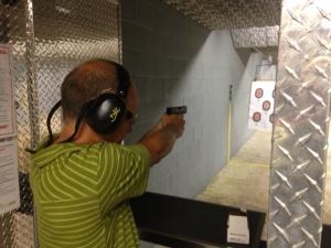 New pistol shooter !